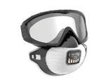 JSP® FilterSpec®PRO FFP3V Vollsichtbrille und Atemschutz Komplettlösung