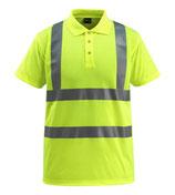 Warnschutz-Polo-Shirt Bowen gelb, Hi-Vis Gruppe C, Klasse 2