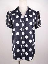 水玉シャツ(半袖)