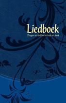Liedboek - blauw kunstleer