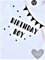 "Shirt ""Birthday boy"""