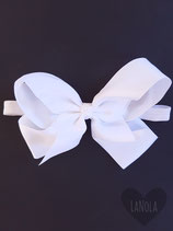 "Haarbandje ""Big bow white"""