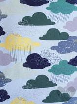 """Slabbetje handmade """"Wolkenprint"""""""