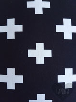 """Short """"Zwart met witte kruisjes"""""""