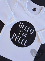 """Shirt """"Rondje"""" (gepersonaliseerd)"""