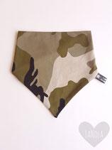"Slabbetje handmade ""Camouflage"""
