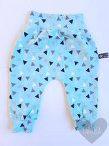 "Harembroekje ""Blue Triangle"""