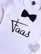 """Shirt """"Vlinderdas"""" (gepersonaliseerd)"""