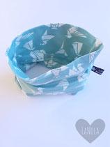 "Sjaaltje ""Mint Origami"""