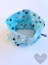"Sjaaltje ""Blue Triangle"""