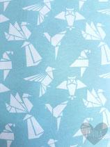 """Short """"Mint Origami"""""""