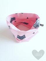 "Sjaaltje  ""Pink foxes"""