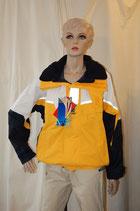 ProRainer Racer Short Jacket  gelb/blau Segeljacke EINZELSTÜCK