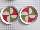 PLATE FANTASIA ITALIANA design GIO PONTI for FRANCO POZZI CERAMICHE