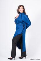 MANTEAU IND BLUE