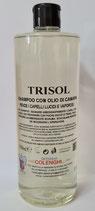 Trisol shampoo con olio di canapa
