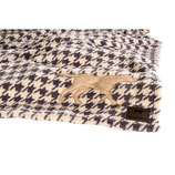 Tall Tails Fleece Decke -Houndstooth