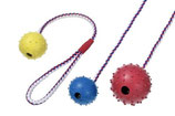 Karlie Boomer Spielball mit Seil und Glocke