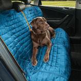 Kurgo Loft Bench Seat Cover blue/charcoal