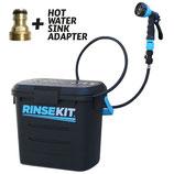 RINSEKIT Dusche incl. Warmwasseradapter