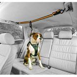 Kurgo - Auto Zip Line For Dogs - Black/Orange