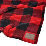 Tall Tails Fleece Decke - Hunters Plaid