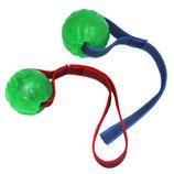 Treat Dispensing Chew Ball mit gumimertem Nylonband und Handschlaufe