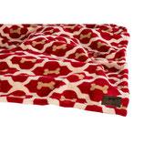 Tall Tails Fleece Decke - Red Bone