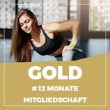 MITGLIEDSCHAFT GOLD – 12 Monate