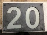 Hausnummer Negativ Doppelzahl