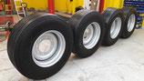 Komplettrad für HW80 Anhänger 385/65 R22,5 NACHGESCHNITTEN