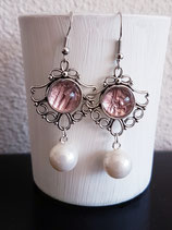 ohrhänger ornament mit Perle