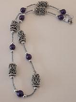 Halskette mit Rocailles