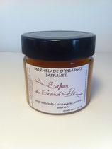 marmelade d'oranges safranée