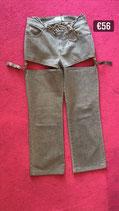 Upcycled Denim Rhinestones Pants