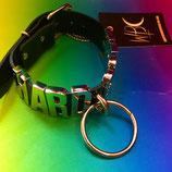 'HARD CORE'  Black Choker