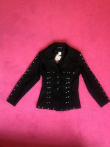 Vintage Black and bedazzled Blazer