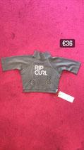 Pierced Rip Curl Top