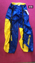 Original Raver Pants in Blue and Yellow