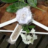 Bügel für Hochzeitskleid mit Anhänger Kollektion VINTAGE WEDDING