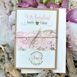 Lovely Wedding Hochzeitseinladung + Umschlag