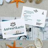 MARITIM WEDDING ANTWORTKARTE