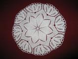 #1014 Weiße Blüte 35 cm, rustikal