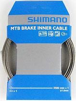 MTB用SUSブレーキインナーケーブル  ロング(Y80Z35013)