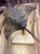 マンタの置き時計