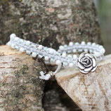 "Armband ""Perlen"" Rose"