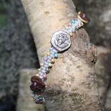 "Armband ""Edelweiß 1"" Perlen"