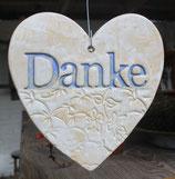Keramik-Herz groß