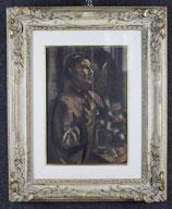 HENRI LE FAUCONNIER,''RITRATTO DI GIOVANE'',XIX SEC.
