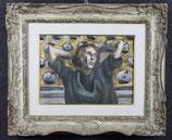 HENRI LE FAUCONNIER, '' RITRATTO DI GIOVANE'' ,XIX SEC.